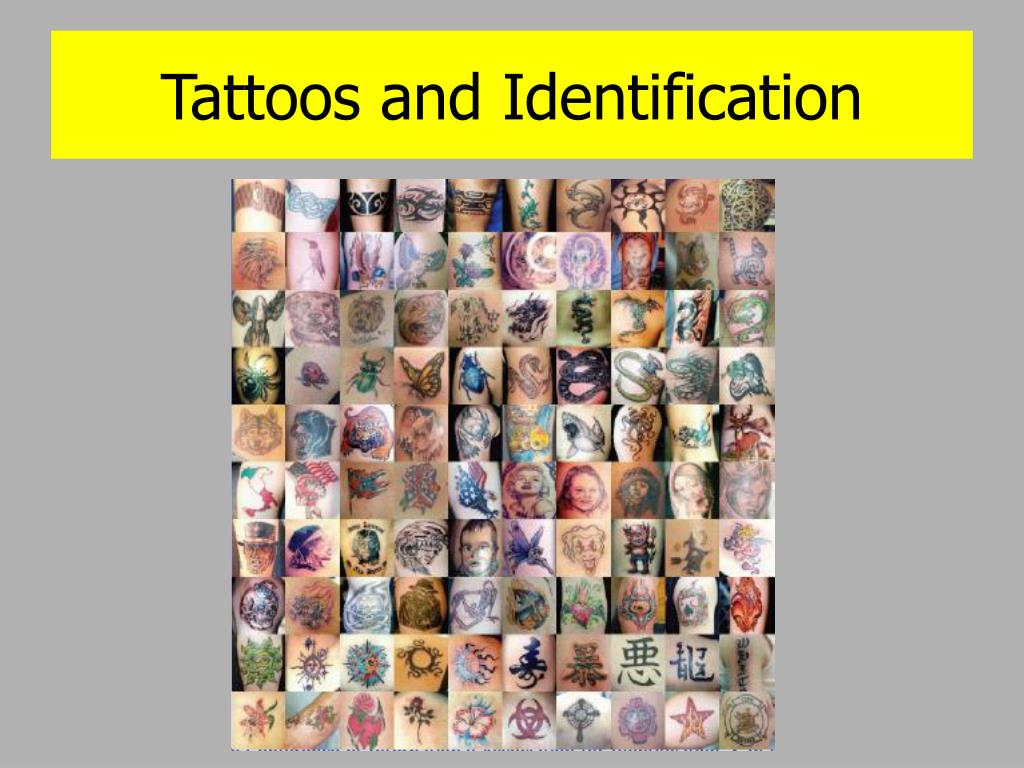 Tattoos and Identification