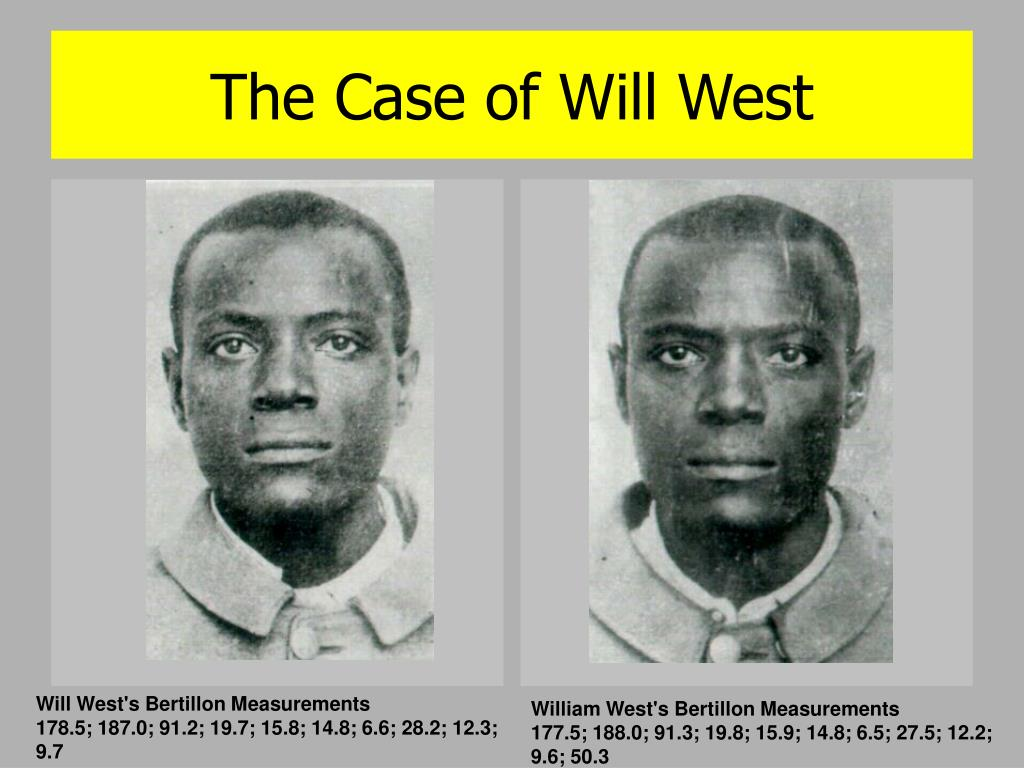The Case of Will West