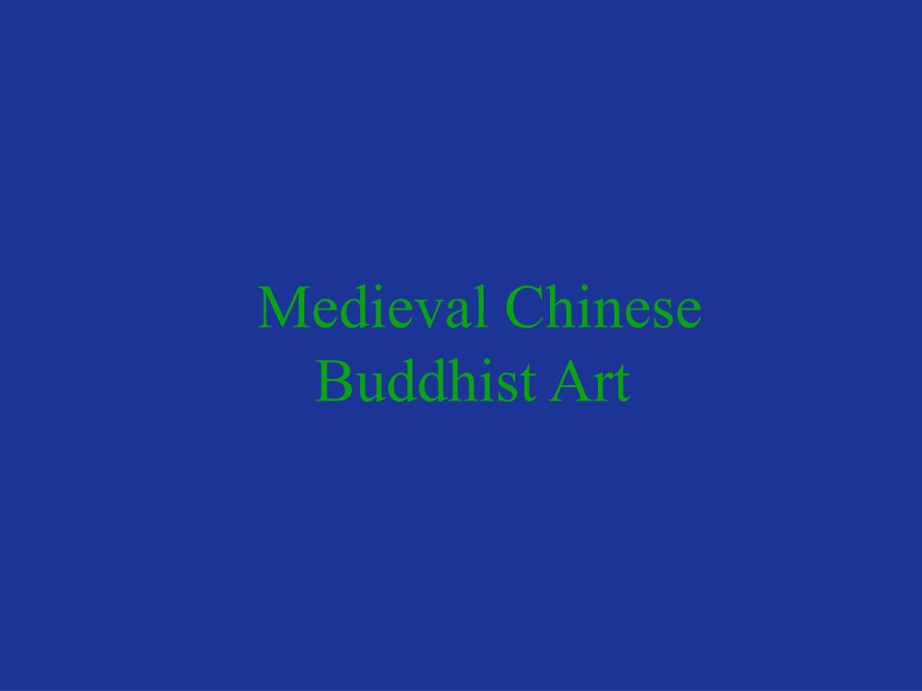 medieval chinese buddhist art l.