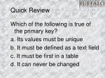 quick review12