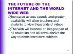 the future of the internet and the world wide web65