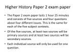 higher history paper 2 exam paper