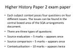 higher history paper 2 exam paper3