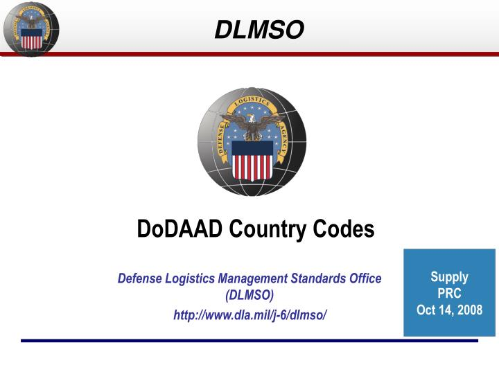 Dodaad country codes