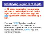 identifying significant digits4