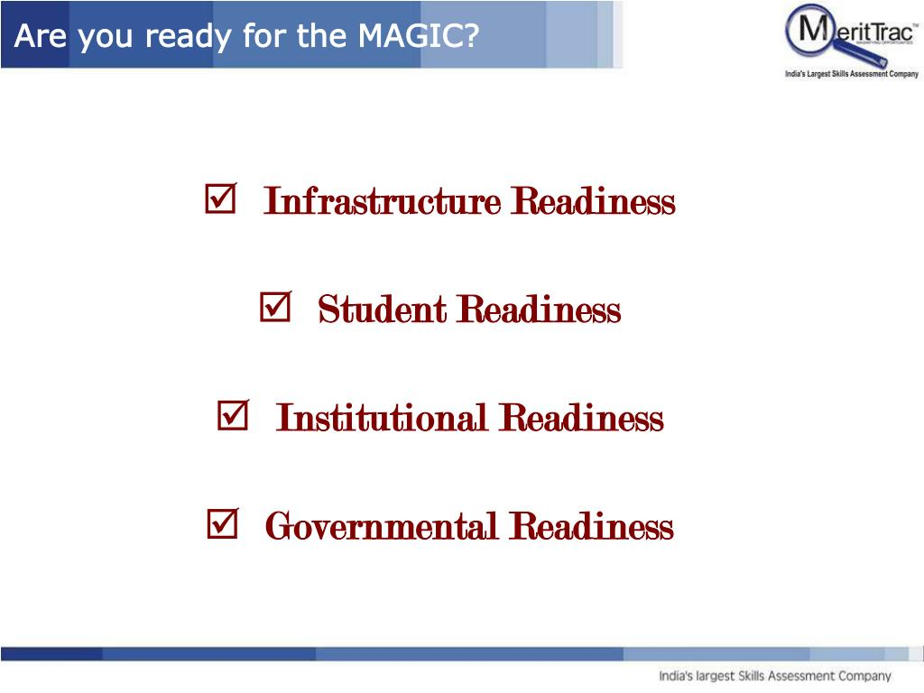 Are you ready for the MAGIC?