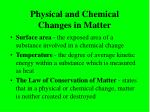 physical and chemical changes in matter14
