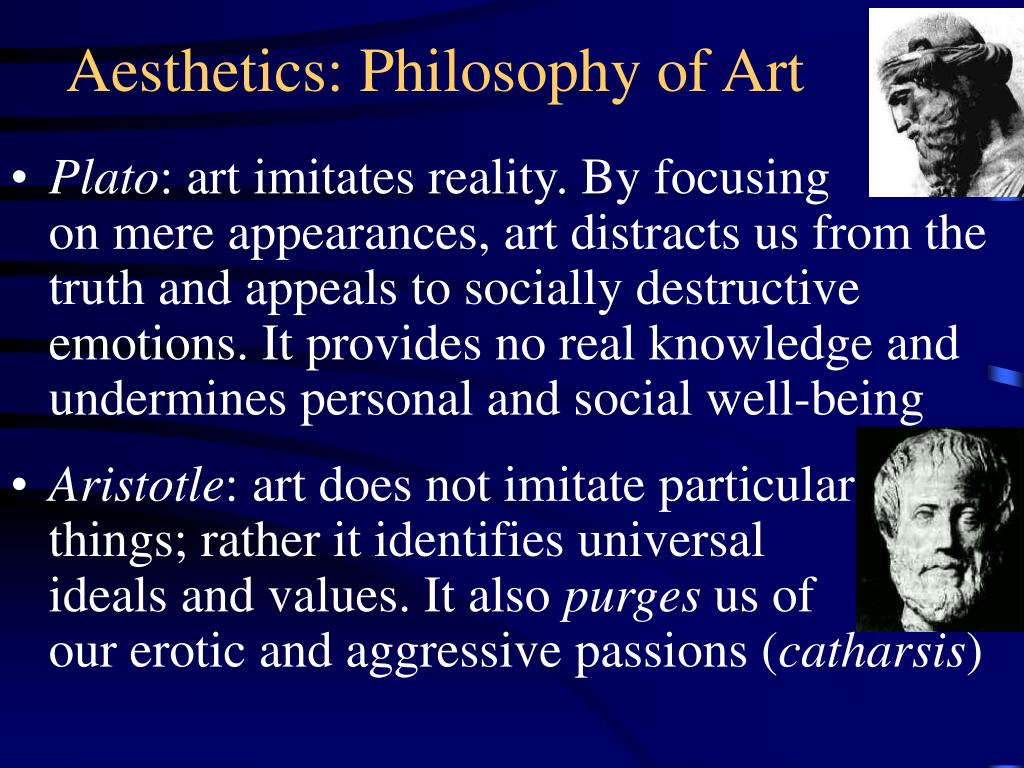 aesthetics philosophy of art l.