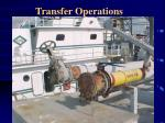 transfer operations