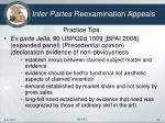 inter partes reexamination appeals22