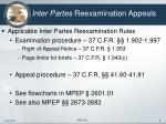 inter partes reexamination appeals3