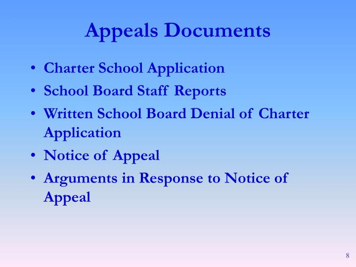 Charter School Application