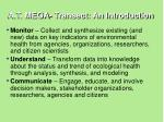 a t mega transect an introduction