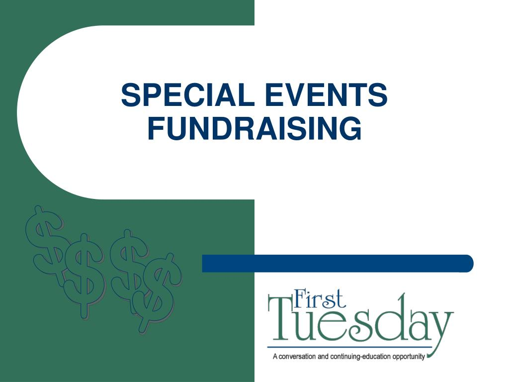 special events fundraising l.