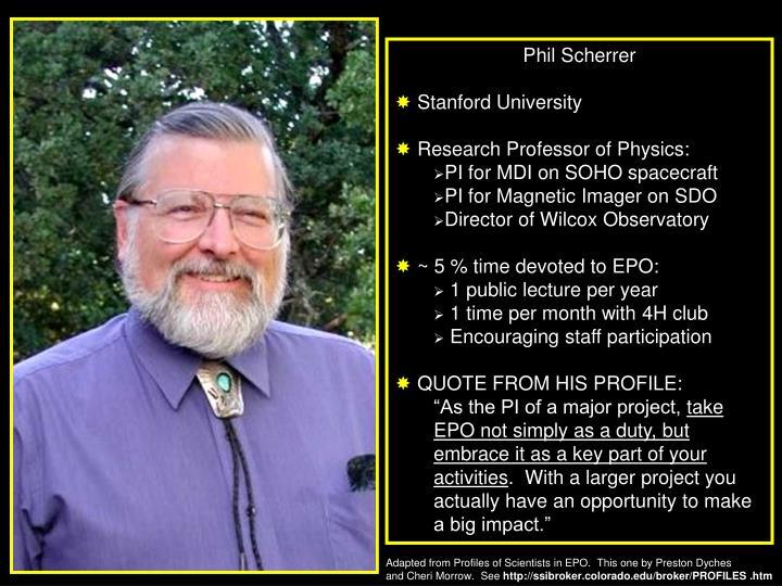 Phil Scherrer