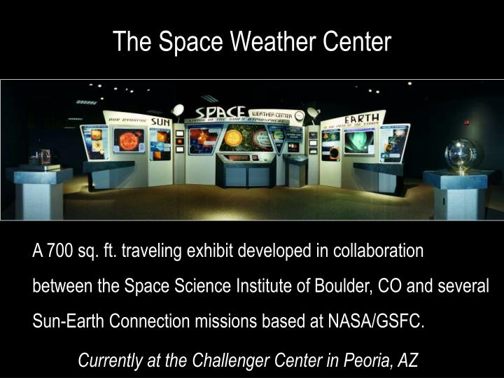 The Space Weather Center