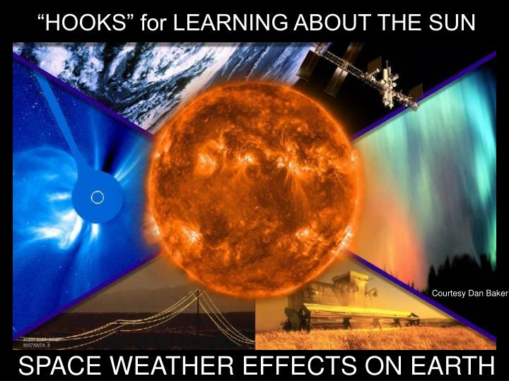 """""""HOOKS"""" for LEARNING ABOUT THE SUN"""