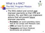 what is a rac the rac program mission