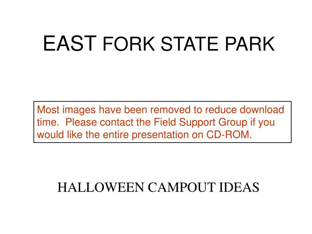 east fork state park l.
