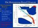 the hertzsprung russell diagram53