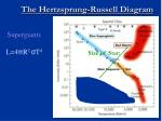 the hertzsprung russell diagram55