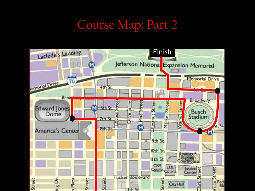 Course Map: Part 2
