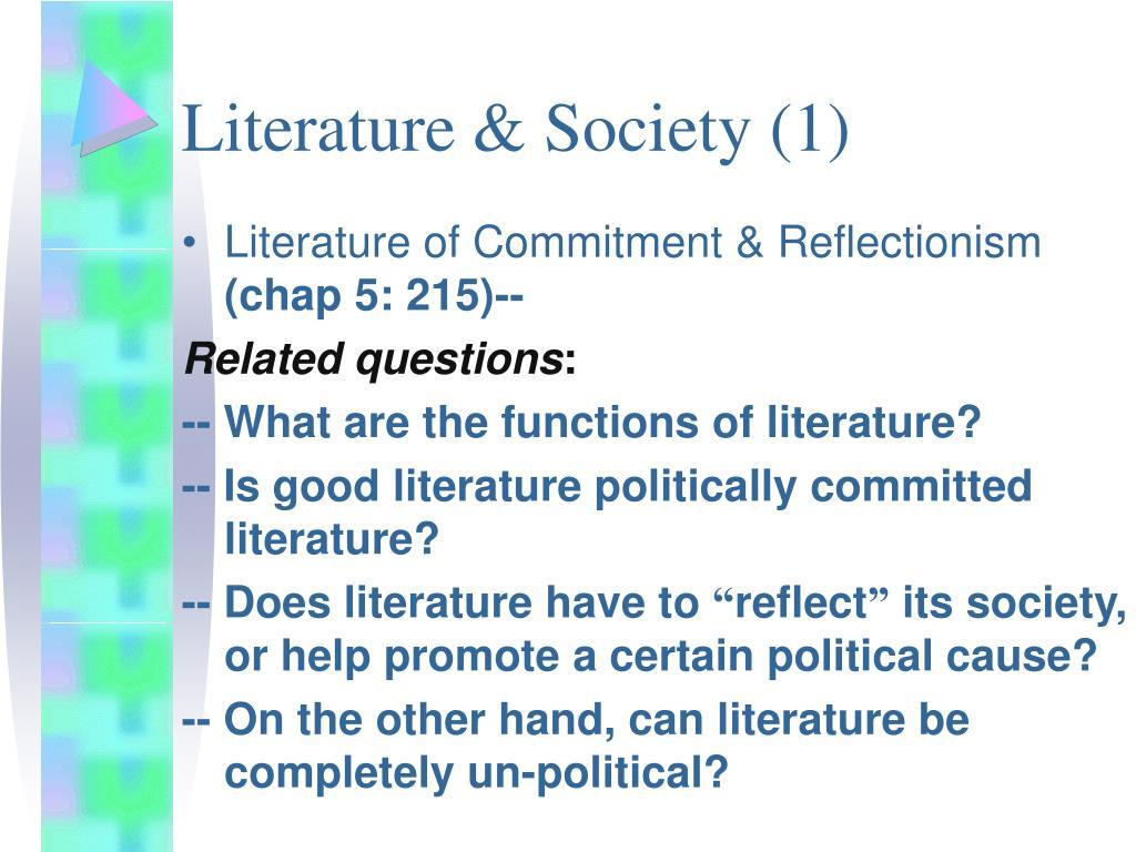Literature & Society (1)