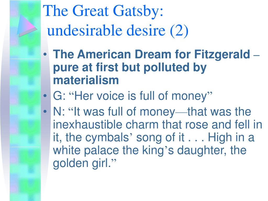 The Great Gatsby: