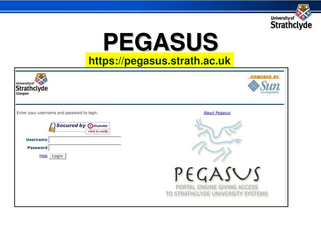 https://pegasus.strath.ac.uk