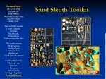 sand sleuth toolkit