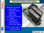 redundant fieldbus power system
