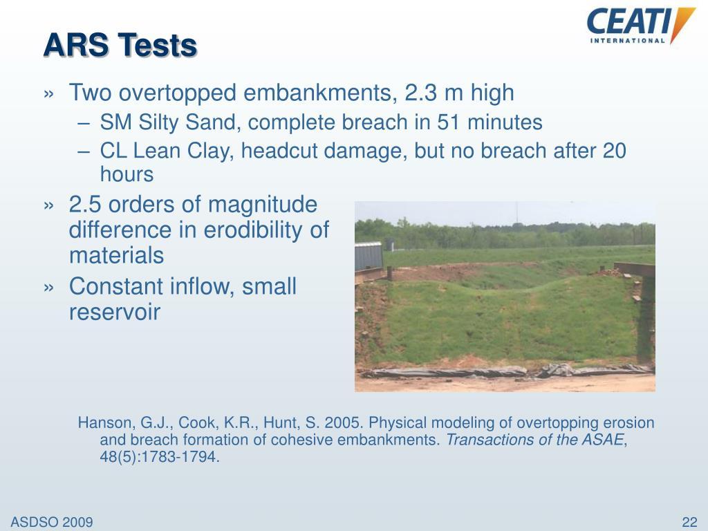 ARS Tests