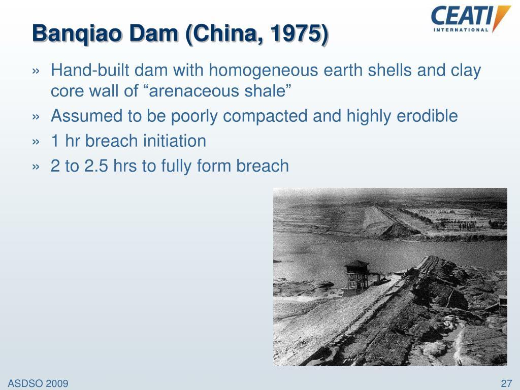 Banqiao Dam (China, 1975)