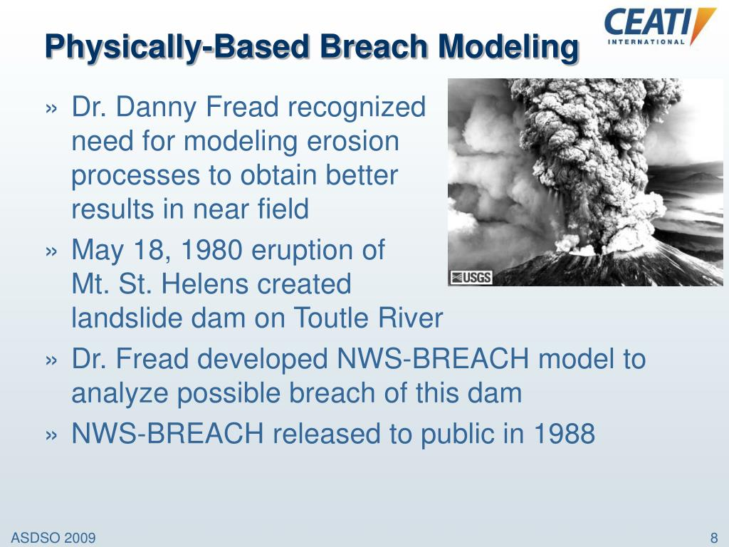 Physically-Based Breach Modeling