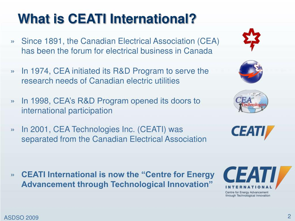What is CEATI International?
