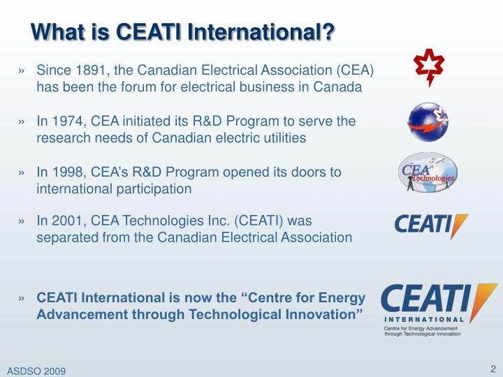 What is ceati international