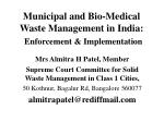 municipal and bio medical waste management in india