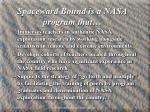 spaceward bound is a nasa program that