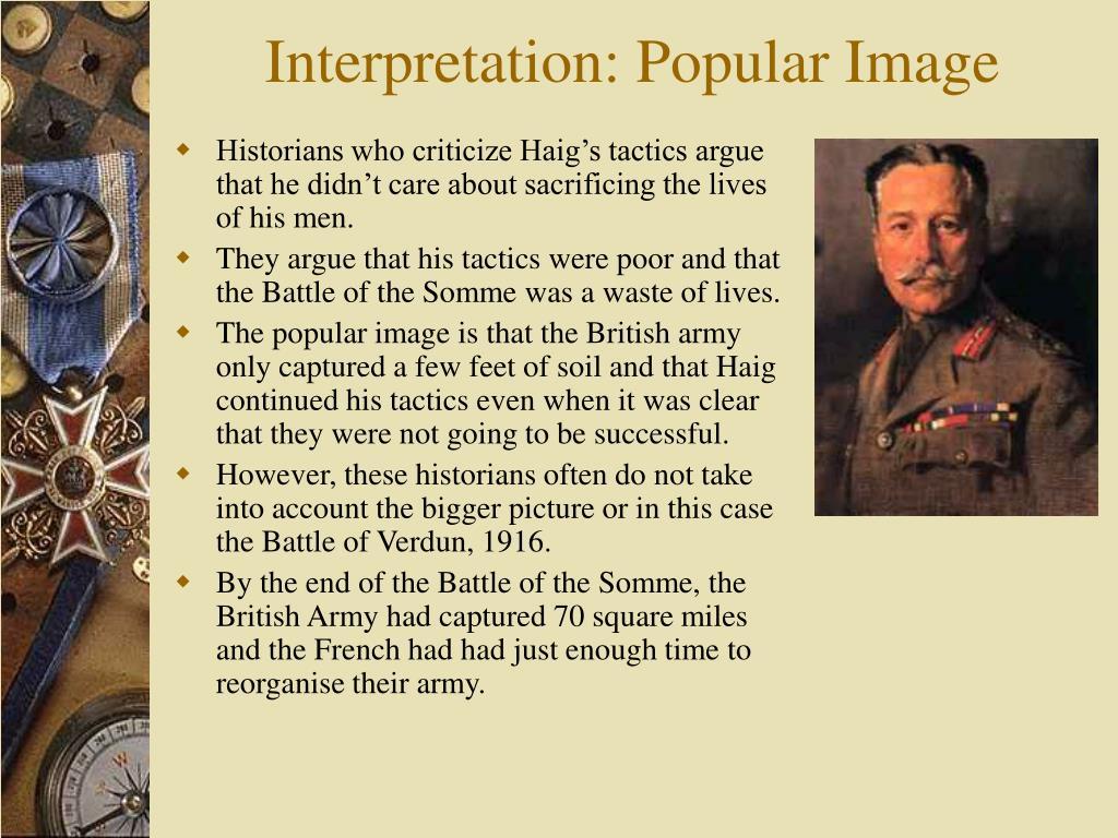 Interpretation: Popular Image