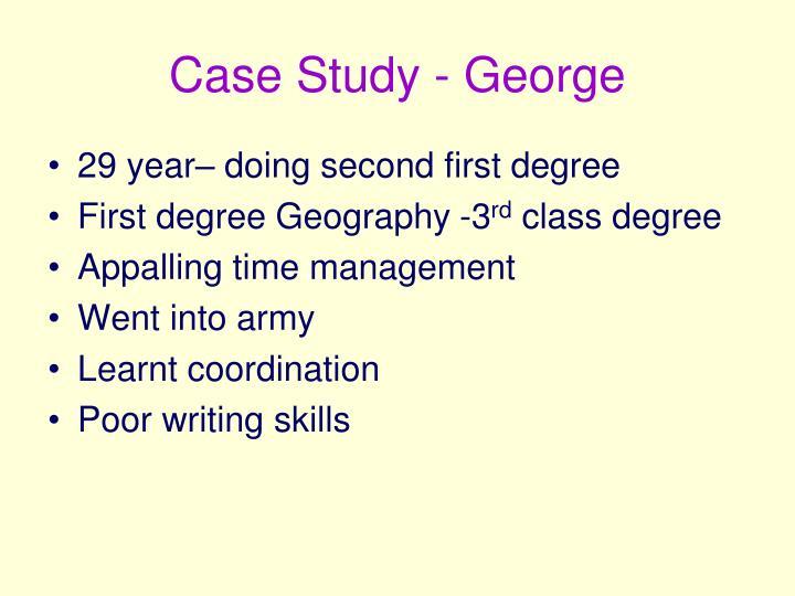 Case Study - George