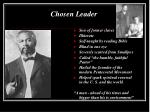 chosen leader
