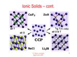 ionic solids cont
