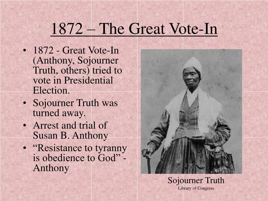 1872 – The Great Vote-In
