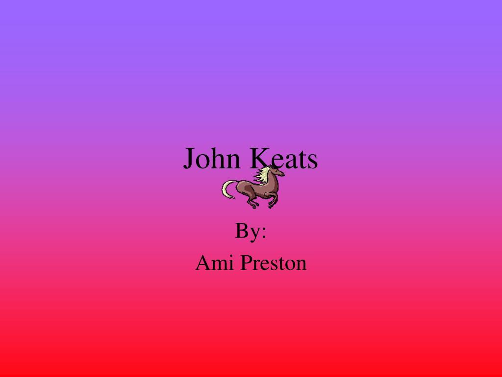 john keats l.