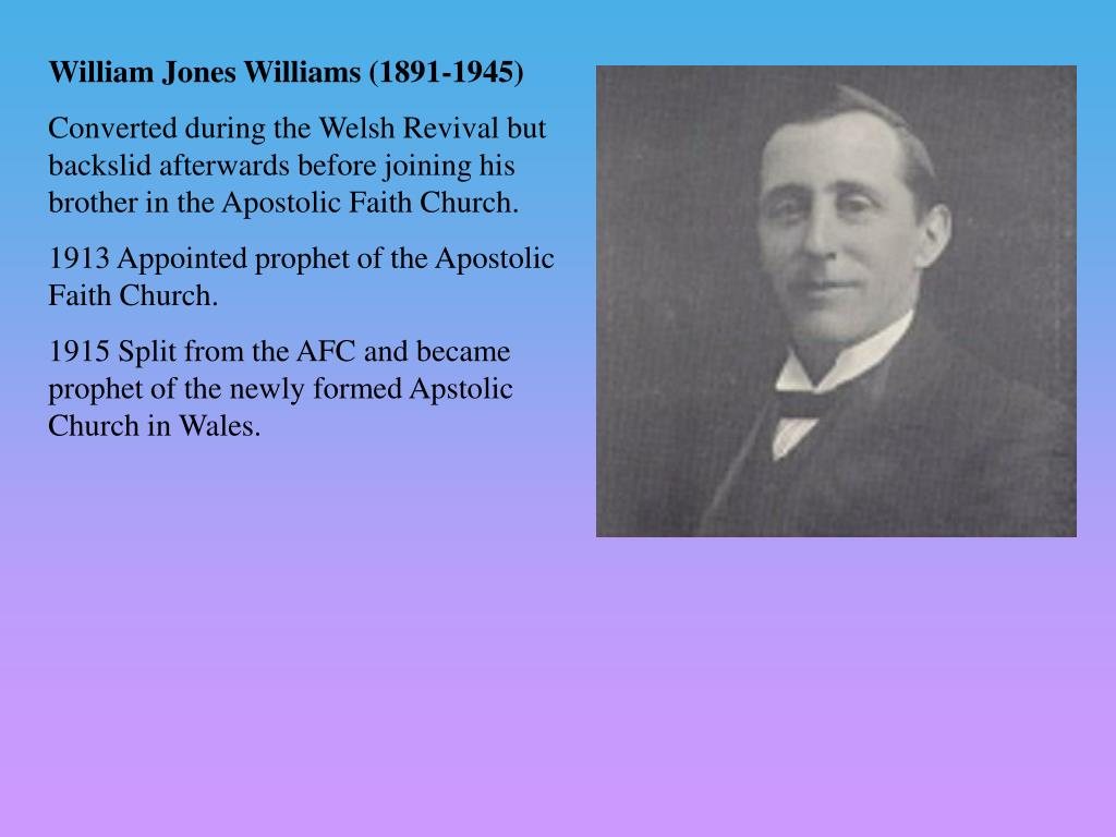 William Jones Williams (1891-1945)