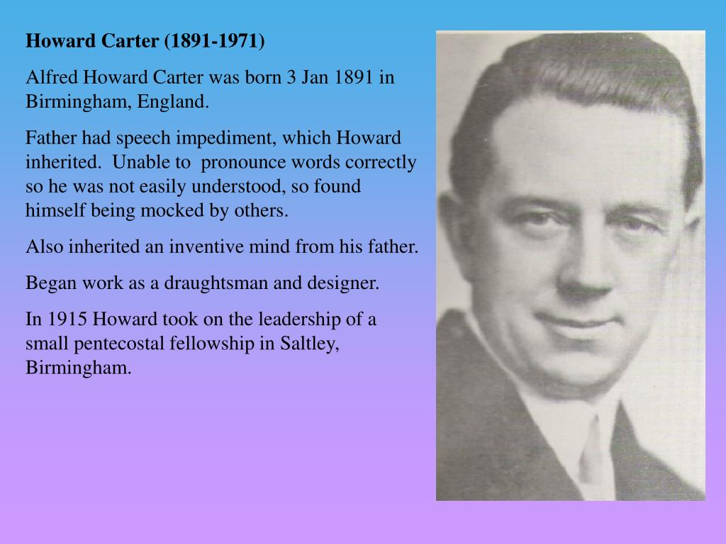 Howard Carter (1891-1971)
