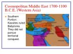 cosmopolitan middle east 1700 1100 b c e western asia