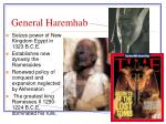 general haremhab