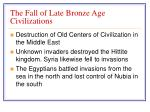 the fall of late bronze age civilizations