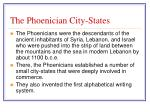 the phoenician city states